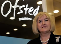 Ofsted head Christine Gilbert