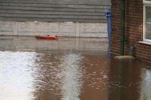 Horn End Nursery Flooding