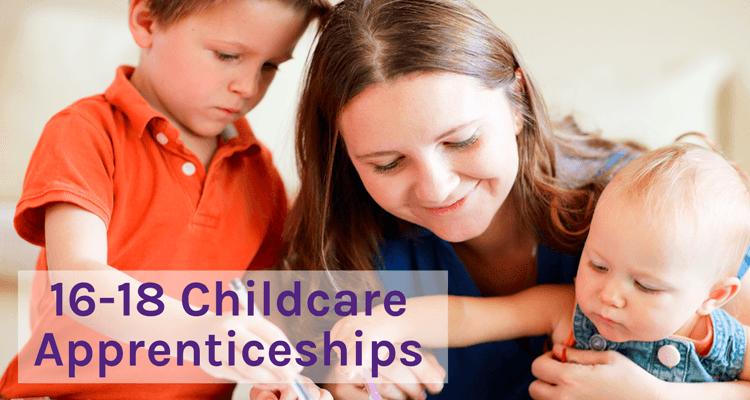 16-18 childcare apprenticeships