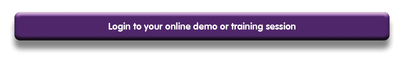 Online demonstration or training session