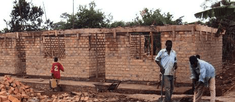 Uganda pre-school 1 build gallery Image