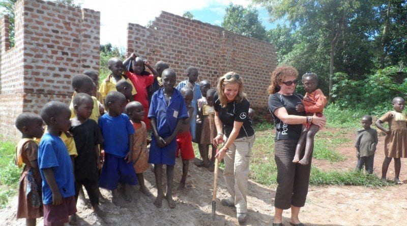 School children arrange fundraiser for school children in Uganda, Parenta Trust breaks ground