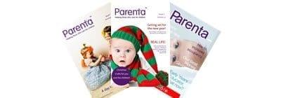 Parenta Magazine Banner