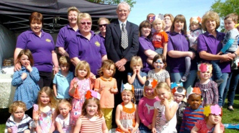 South Wootton pre-school revamps play area thanks to £10,000 grant