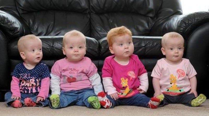Quads start nursery together