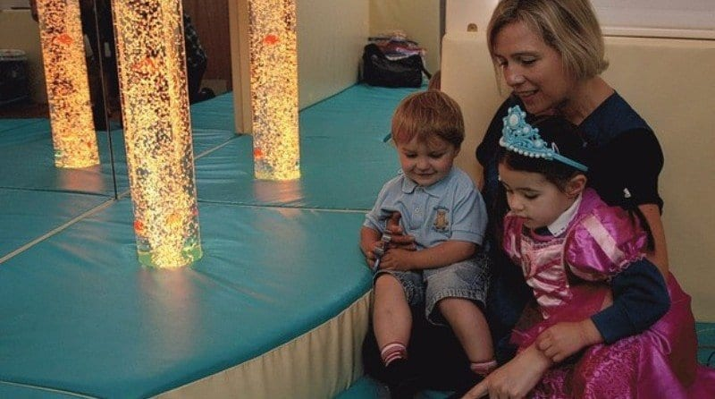 New sensory room for Buttsbury Pre-School