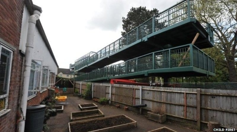 Nursery requesting compensation over footbridge
