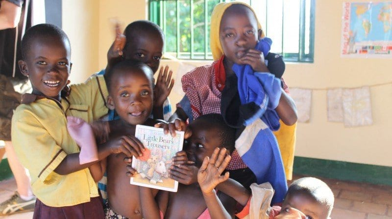Parenta Trust opens first pre-school in Africa!