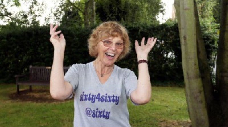 Retired nursery teacher on fundraising challenge