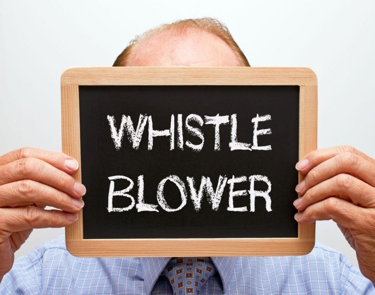 Whistleblowing: what would a good practitioner do?