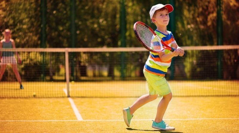 The Spanish Nursery embraces Physical Development through tennis!