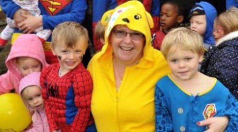 Nurseries rally to support Children in Need