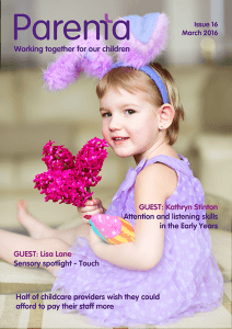 Parenta Magazine Issue 14 January 2016 INT