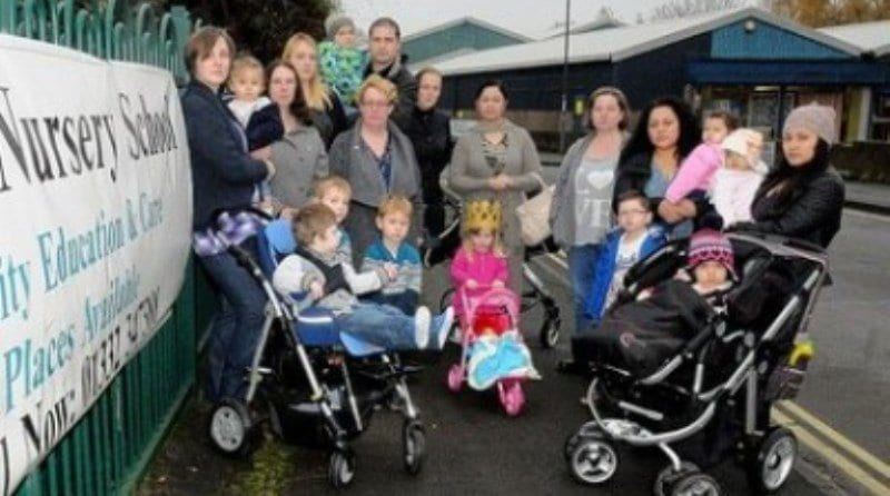Parents rally in bid to save 'outstanding' Derby nursery