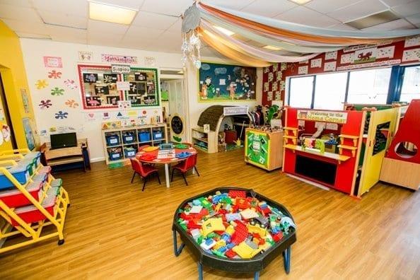 Nursery demonstrates sector, Pre-school room