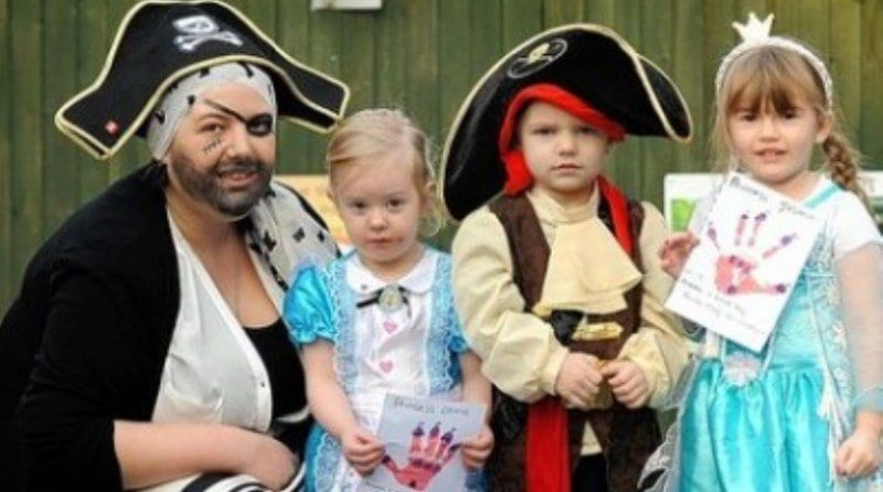 Pirates and princesses raise money for disability charity