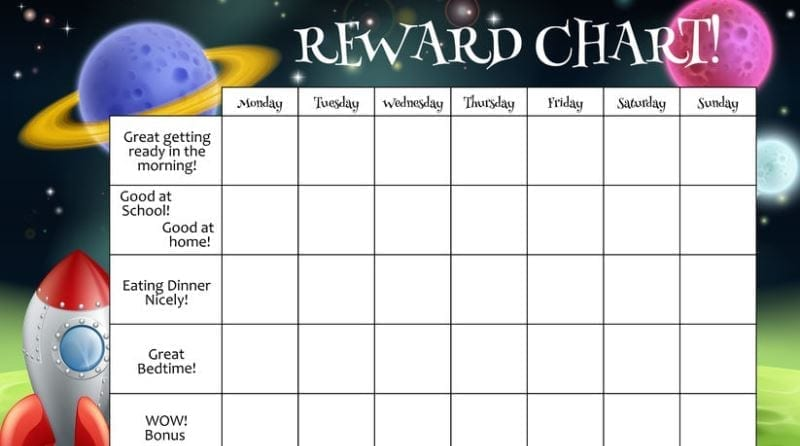 How to use a reward scheme effectively in your childcare setting