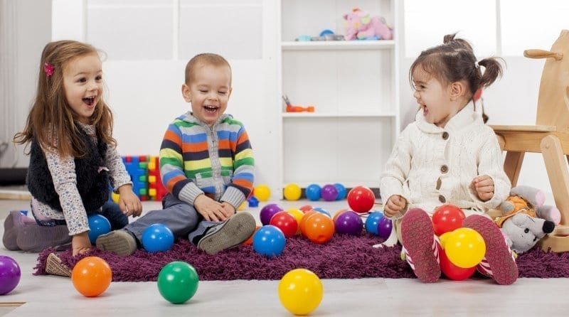 How does sensory play build language?