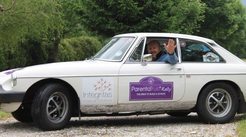 Parenta Trust Rally participants feature in motoring magazine