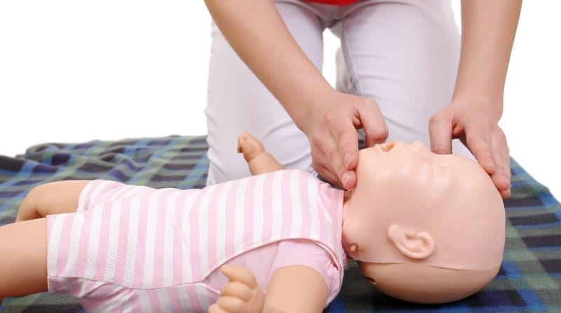 First aid workshop for parents