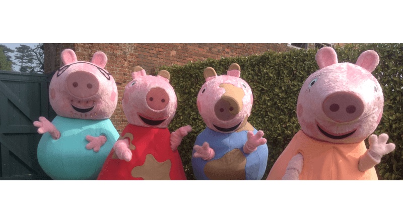 Peppa Pig and friends celebrate with nursery