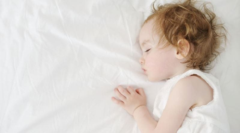How important is sleep to a toddler's development?