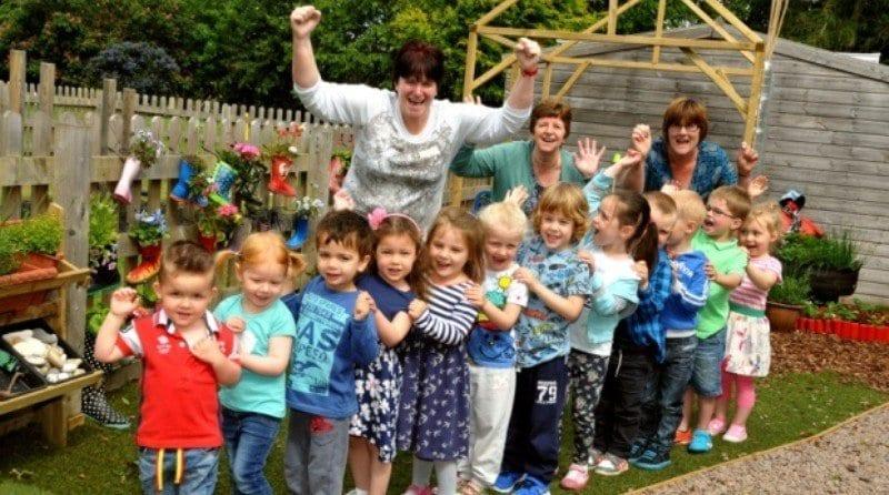 Inspirational Spalding nursery school is 'outstanding'