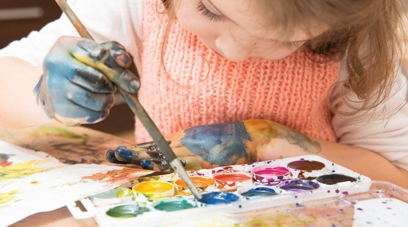 What are the benefits of studying art in  the Early Years for pre-schoolers?