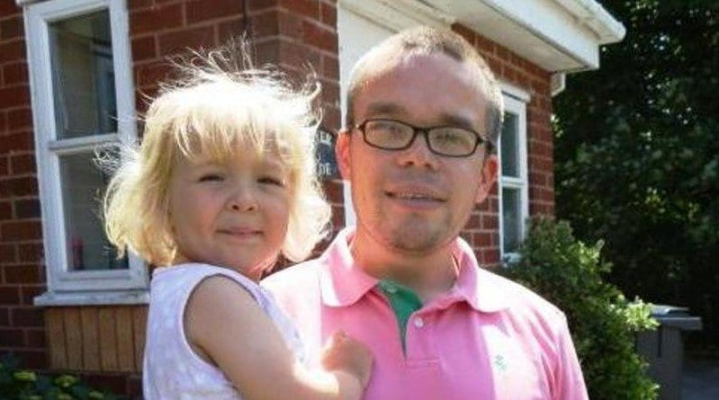 Father urges people to follow in his childminding footsteps