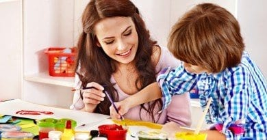 bigstock-Family-with-children-painting-50031017