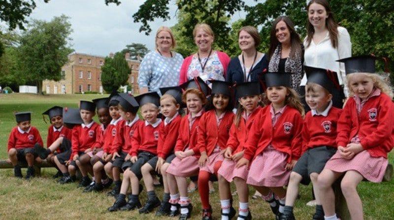 Graduation celebrated at Quinton House Nursery