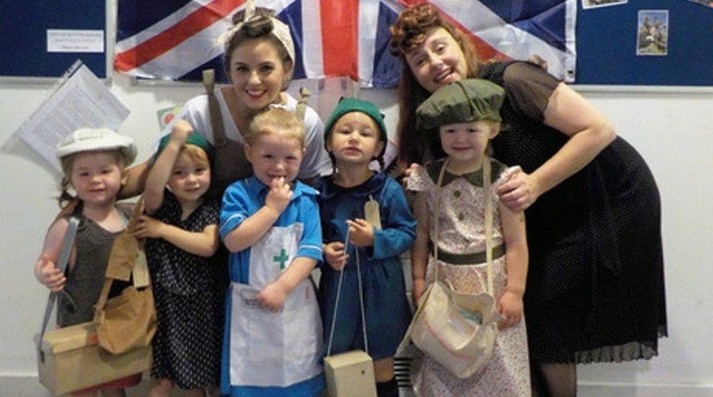 Little Treasures Nursery celebrate VJ Day in style