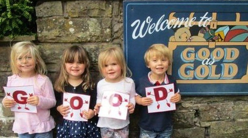 Good as Gold pre-school keeps up the good work
