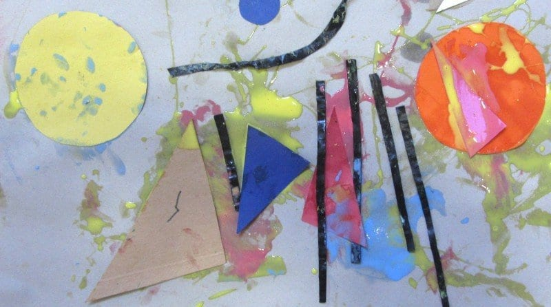 Exploring Shapes in Early Years Artwork