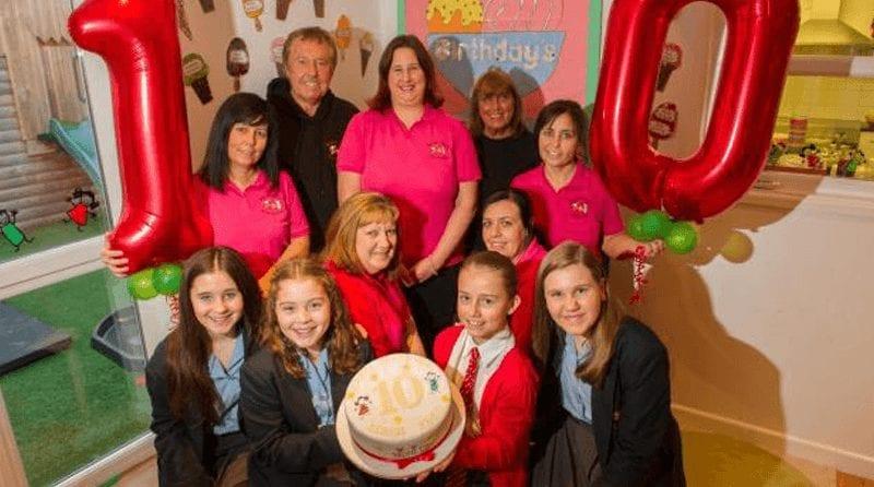 Ponthir nursery celebrates 10th anniversary