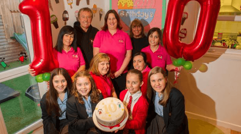 Ponthir nursery celebrates 10th anniversary with first ever babies