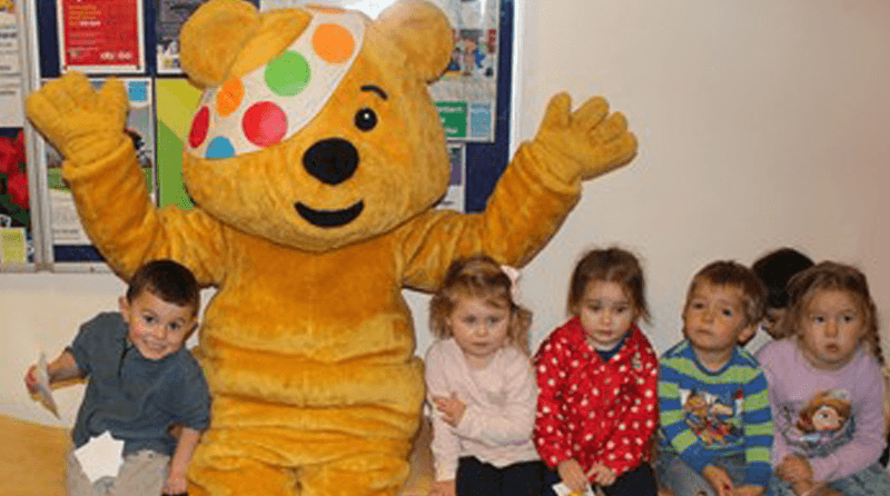 Plymouth pulls together to raise money for Children in Need