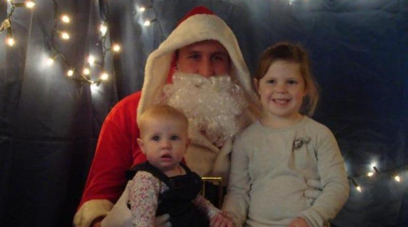 Pre-school raises £1,300 at Christmas bazaar with special guest