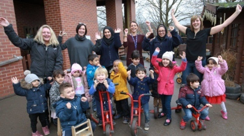 Darnall nursery celebrates recent Ofsted inspection