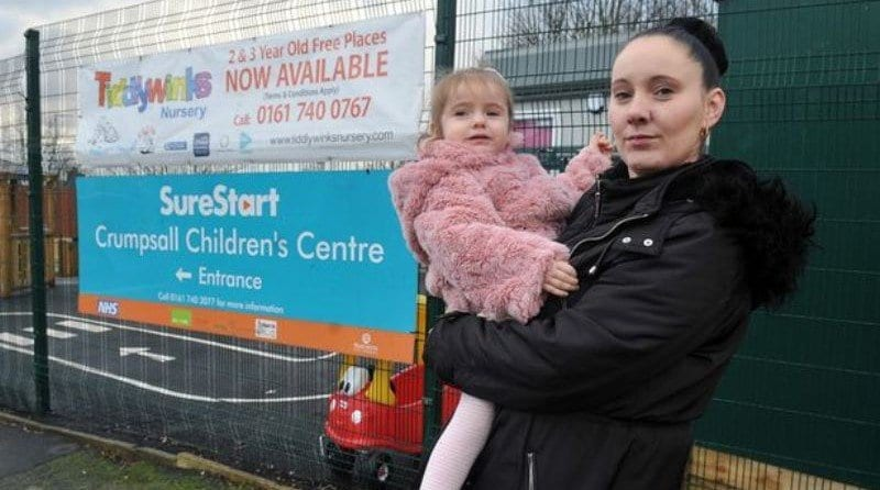 Mother's anger after her two-year-old is found wandering streets