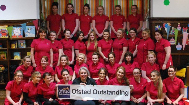 Nursery group wins the double – Ofsted Outstanding!