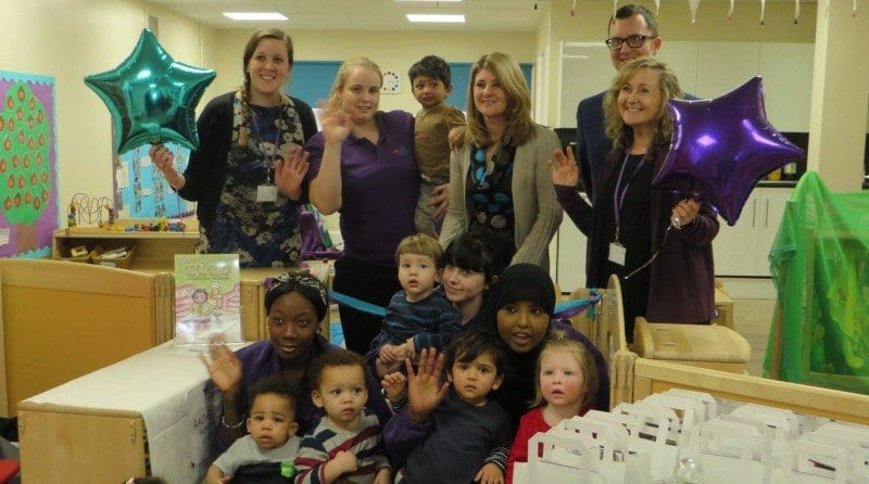 Hungry Caterpillar Day Nurseries celebrates grand re-opening