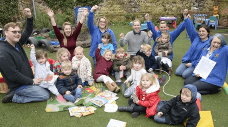 Sandwich nursery celebrates 'good' Ofsted rating