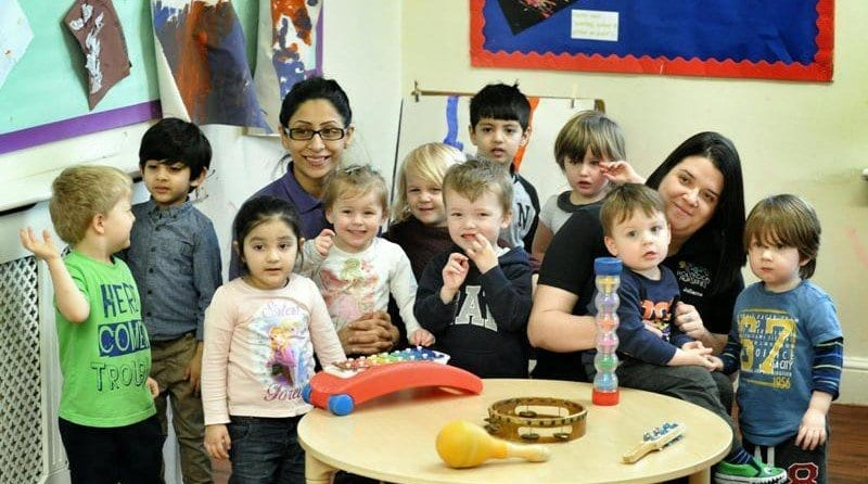 Nursery given glowing Ofsted report