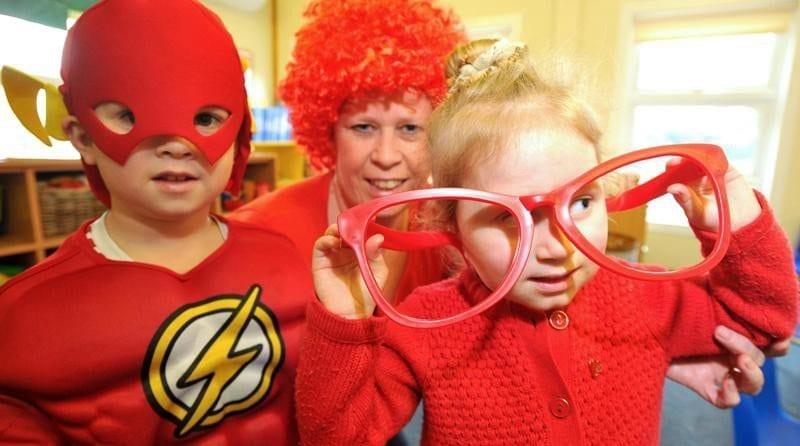 Nursery helps raise money for British Heart Foundation