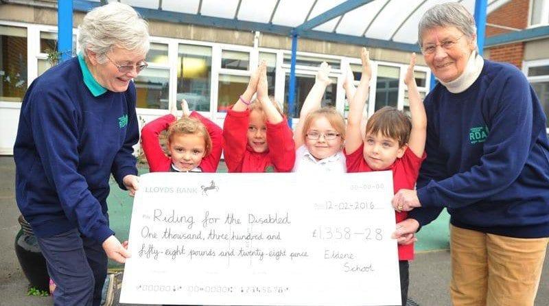 Nursery raises over £1,000 for charity