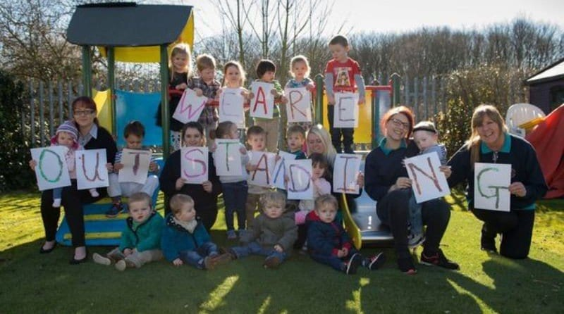 Family run Chester nursery celebrates 'outstanding' Ofsted grade