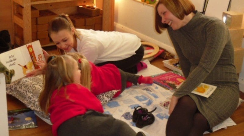 Nursery celebrates Cuddle Up With A Book Day