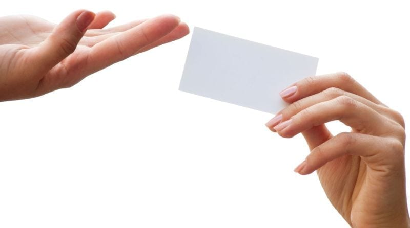 6 reasons to invest in business cards