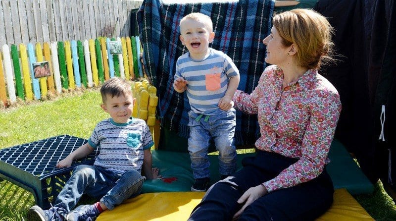 Shadow Minister joins children for Healthy Body Happy Me campaign